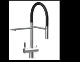 3-Wege-Armatur Levanto Edelstahl | Design Wasserhahn