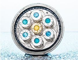 Aquadea Larimar 7 Beach crystal vortex shower
