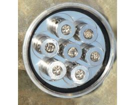 Blume Des Leben 7 -7 Bergkristall Silber Aquadea Kristall Wirbel Dusche