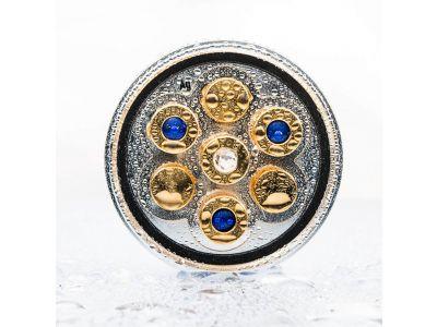 "LifePower ""Royal Blue 7"" | SILBER-GOLD"