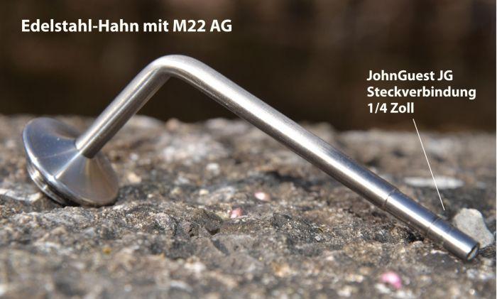 JohnGuest Hahn M22 Edelstahl