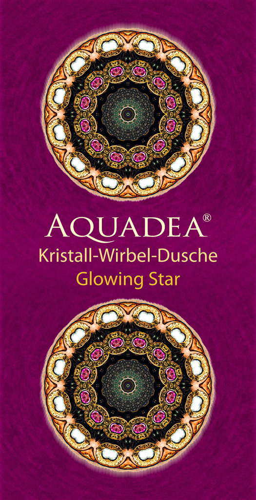 Glowing Star  Aquadea Strandtuch