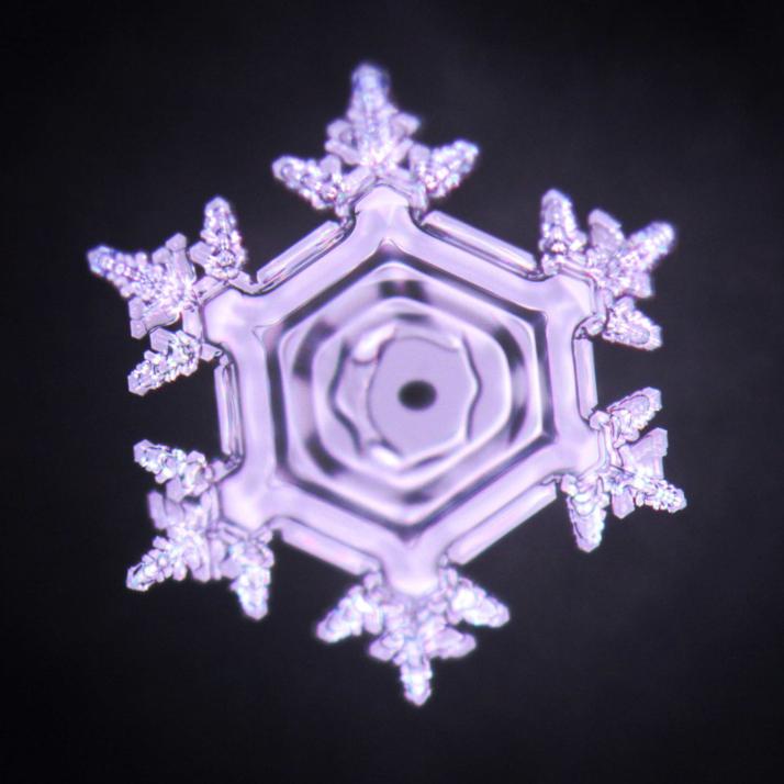 Eiskristall Fotografie Wirbeldusche Authentic