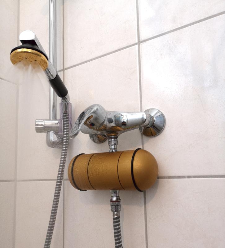 im bild Legionellenfilter designed by Aquadea Duschfilter 20 Liter
