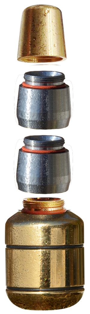 im bild trinity gold wirbler mit buendelduese und 2 titan wirbelmodulen