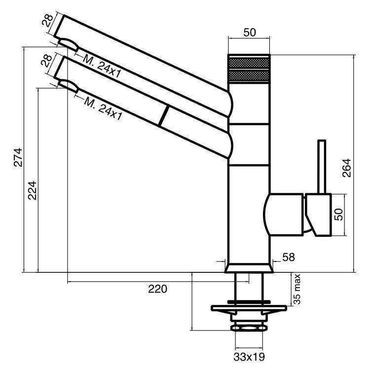 Cucina_technische_Zeichnung